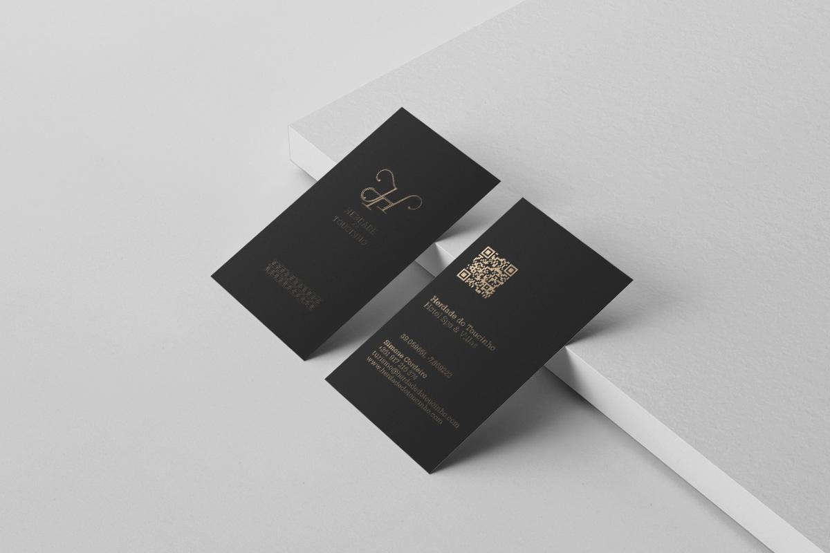 Cartão de visita Herdade do Toucinho - Atto Creative Solutions
