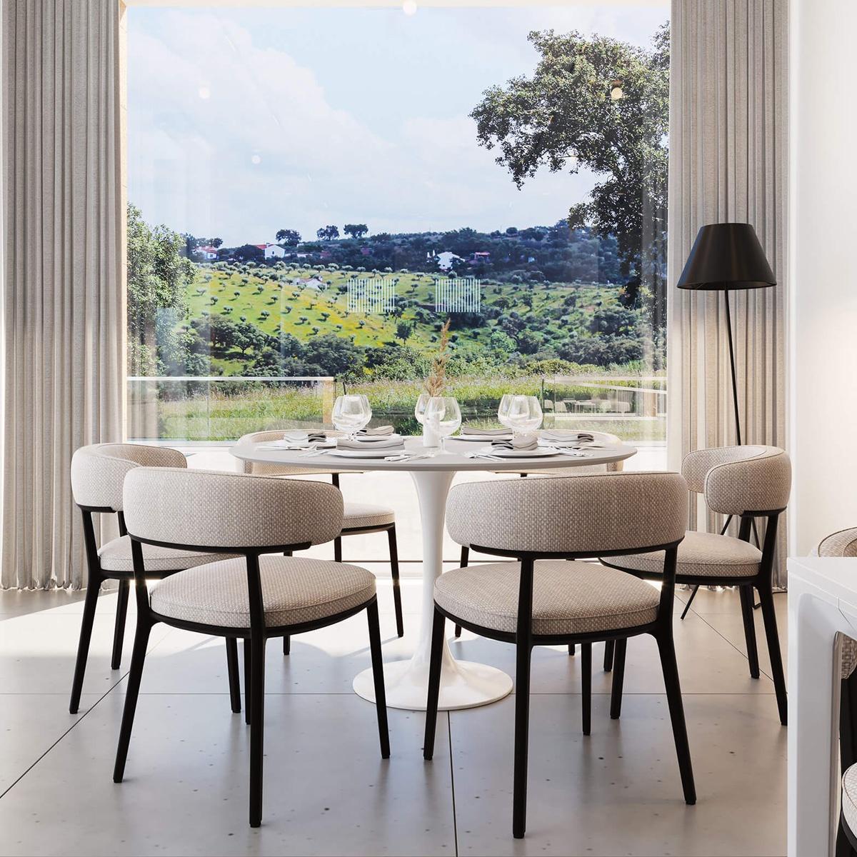 Projeto 3D Lounge Herdade do Toucinho - Atto Creative Solutions