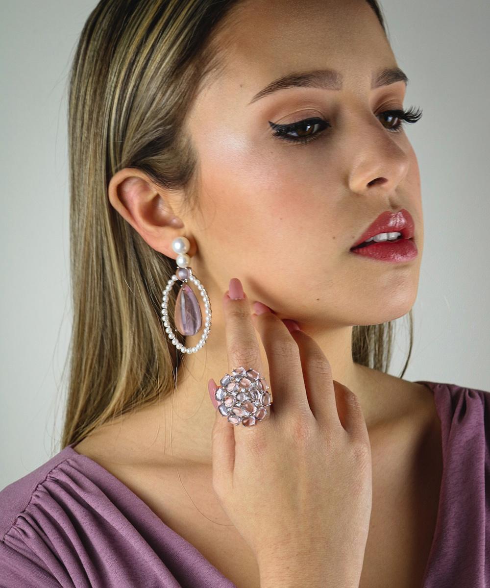 Fotografia de moda de joias - Madame Gi