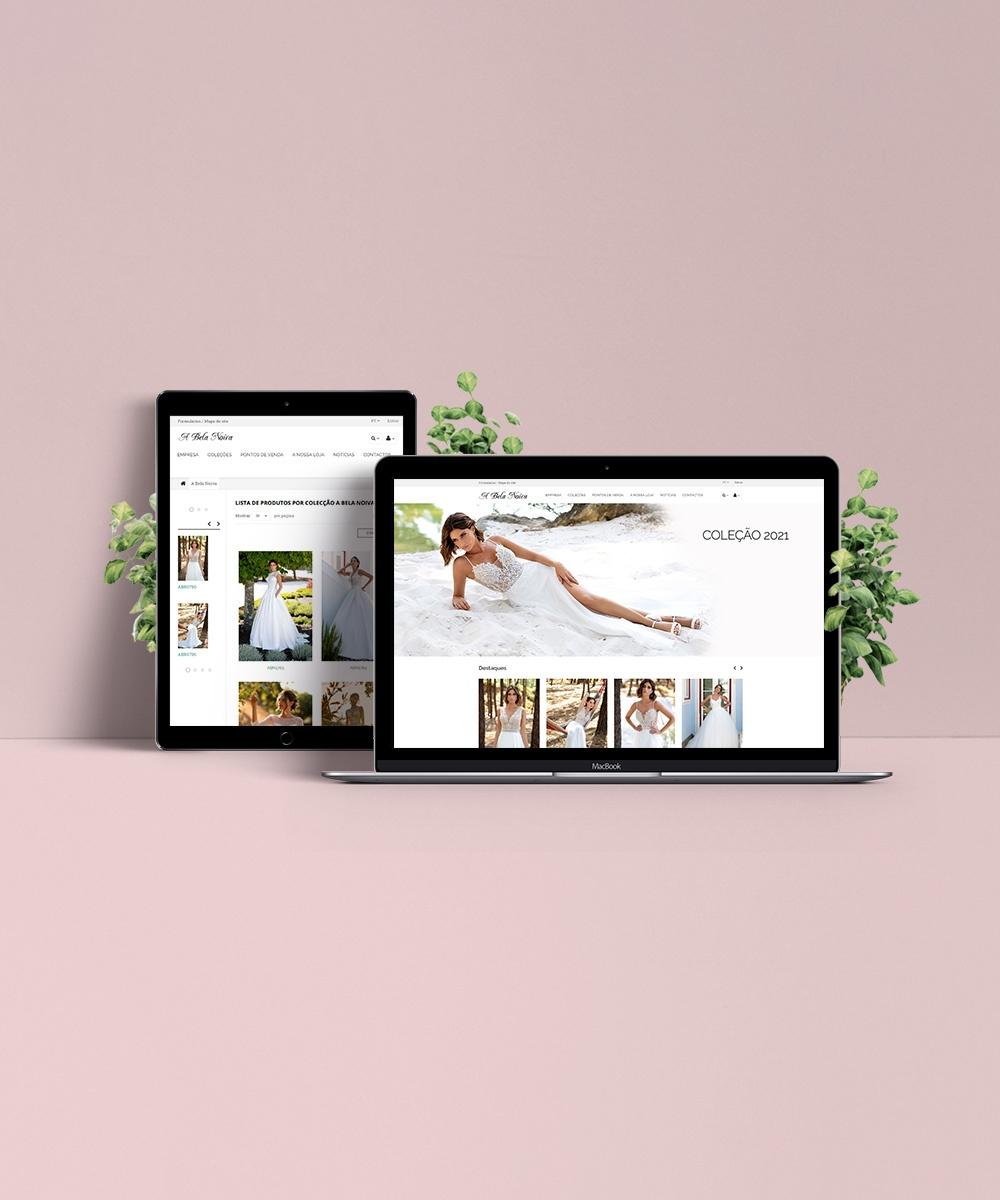Website A Bela Noiva - Atto Creative Solutions