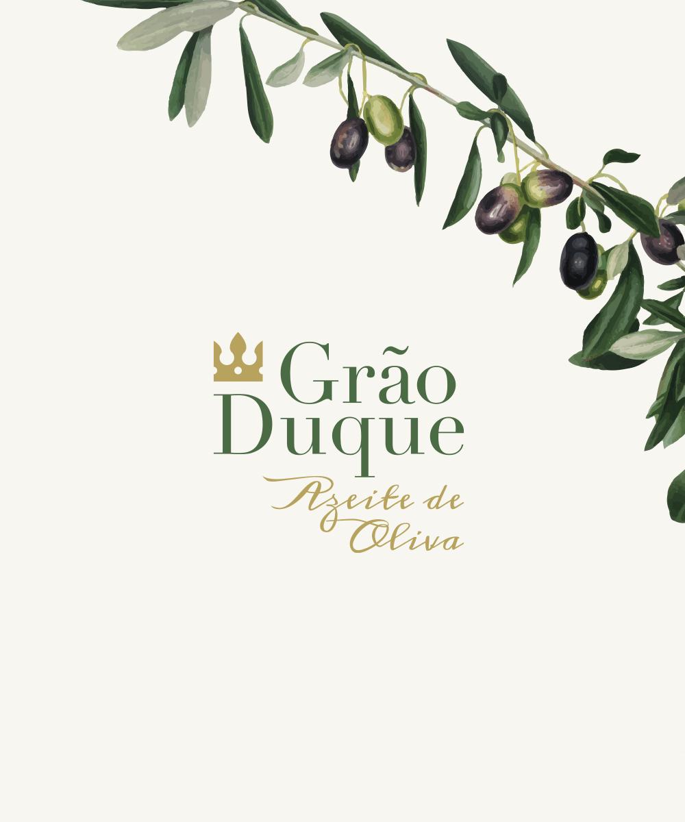 Identidade Grão Duque Azeite de Oliva - Atto Creative Solutions