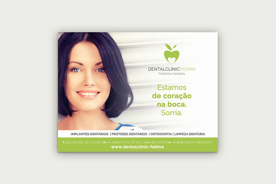 Outdoor Dental Clinic Fátima - Atto Creative Solutions