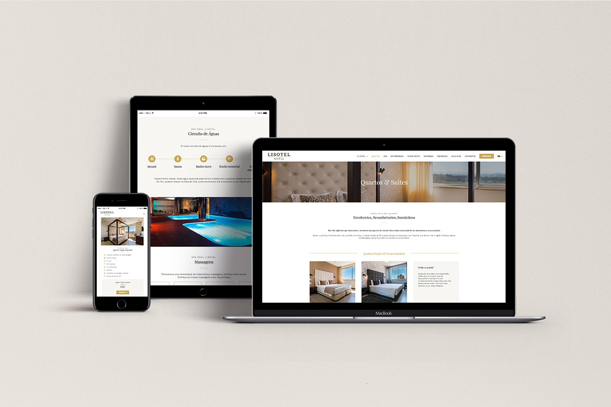 Website Lisotel - Atto Creative Solutions