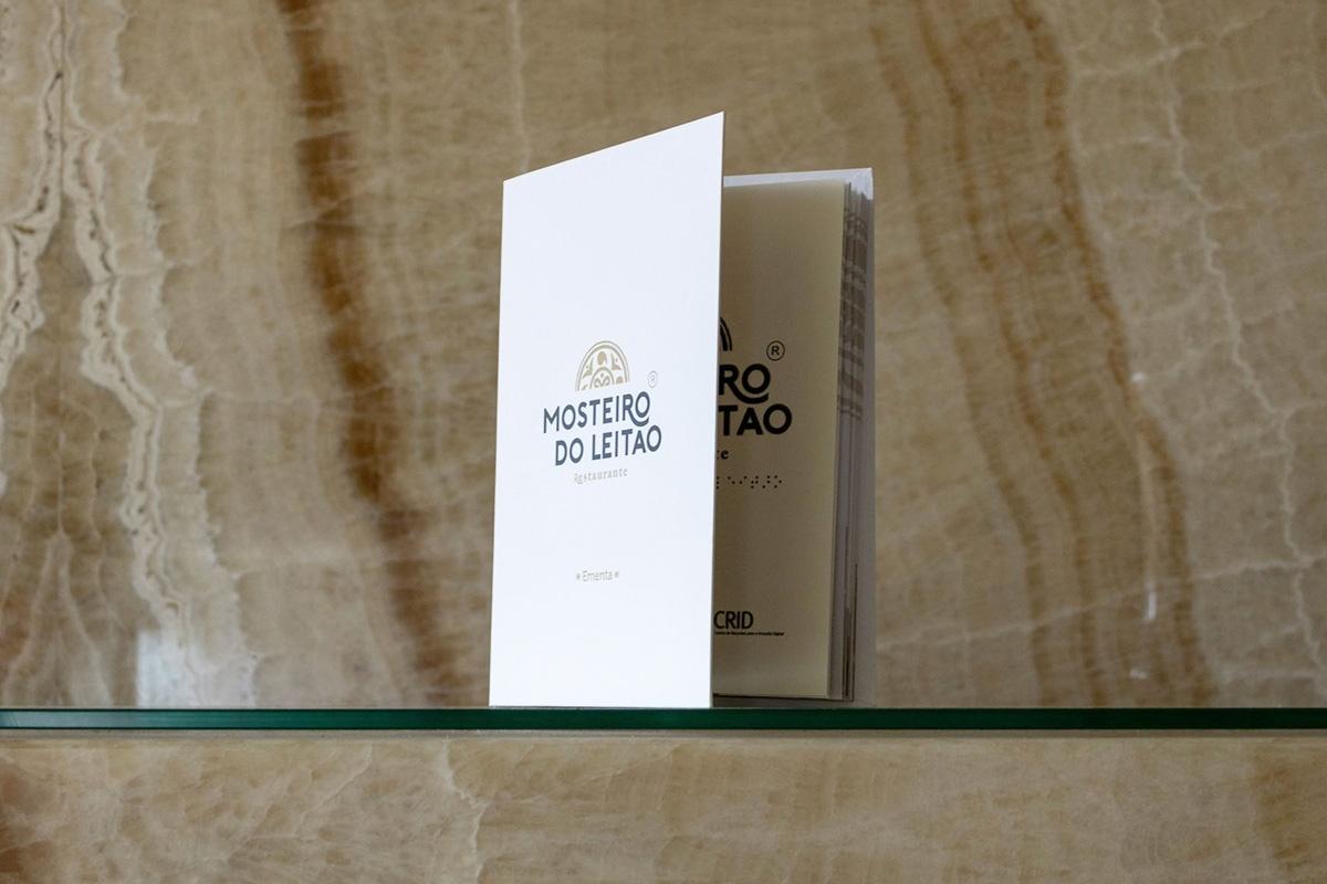 Ementa do restaurante Mosteiro do Leitão - Atto Creative Solutions