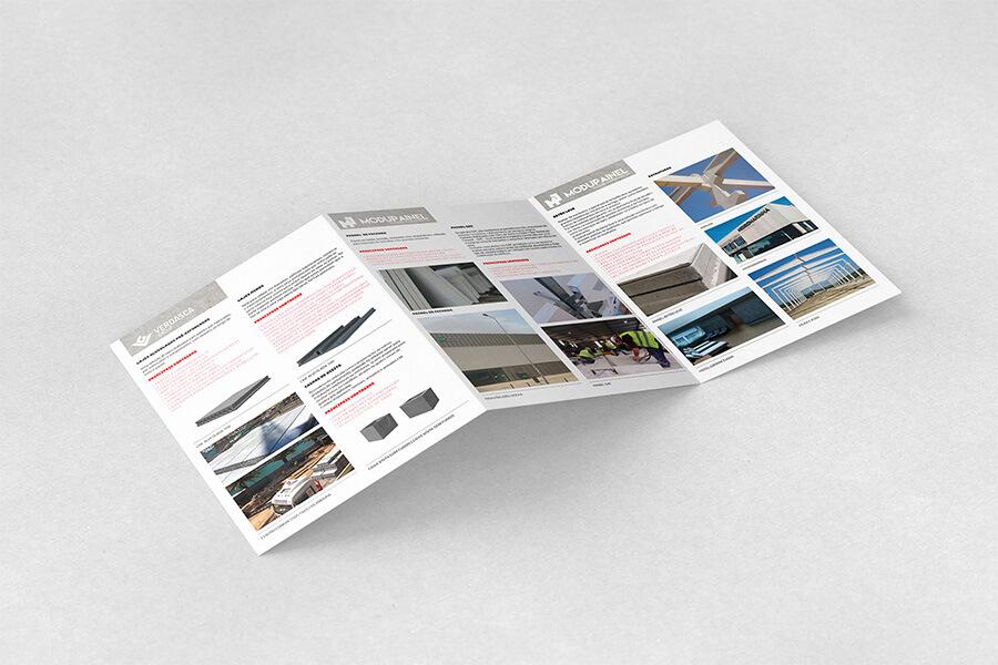 Desdobrável de apresentação Verdasca Group - Atto Creative Solutions