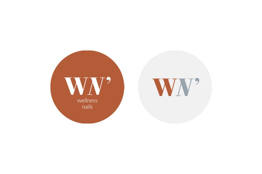 Logotipo Will N' Joy Wellness Nails - Atto Creative Solutions